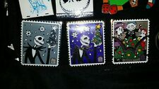 Disney Pin Trading Stamp Collection Nightmare Before Christmas Lot of 3