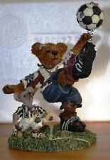 Rocky Bruin.Score, Score, Score ~ Boyds' Bearstone Collection~ #228307 ~ Mib