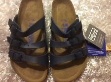 BIRKENSTOCK FLORIDA BLUE SOFT FOOT US 5M (NORMAL) EU 36(5500)