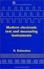 Modern Electronic Test and Measuring Instruments by N. Kularatna