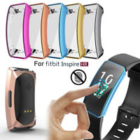 Silicon Shell TPU Watch Case Schutzhülle (Schutzhülle) For Fitbit Inspire & HR