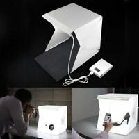 LED Light Room Photo Studio Photography Lighting Tent Kit Backdrop Cube Mini @GA