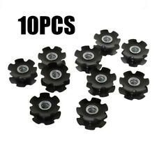 10 Pcs/set Steel Black Headset Fork Fangled Star Nuts Bicycle Cycling Equipment