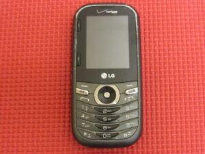 LG Cosmos 3 LG-VN251S Black/Silver 19MB Verizon QWERTY Slider Cell Phone