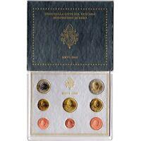 Coffret du Vatican 2006, de 1cts à 2 euros.