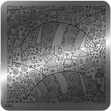 Moyou Cuadrado Stamping Nail Art imagen Placa - 445