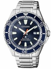 Citizen Mens Eco-drive Stainless Steel Wr200m Watch Bn0191-80l