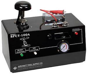 SPCT-100A Aircraft Spark Plug Cleaner & Tester 110/220 Volt Dual SPCT100A