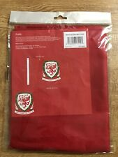 FAW Wales Large Flag Red White Green