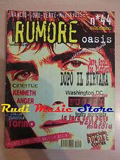 Rivista RUMORE 44/1995 Guru Rancid Kyuss Oasis Foo Fighters Fugazi F. Rossi NOcd