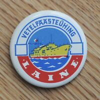 Society For Water Rescue Ship Laine USSR Soviet Estonia Pin Badge