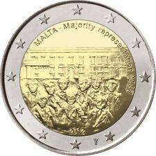 MALTA 2 EURO COMMEMORATIVO 2012  - RAPPRESENTANZA - CON SEGNO DI ZECCA OLANDESE