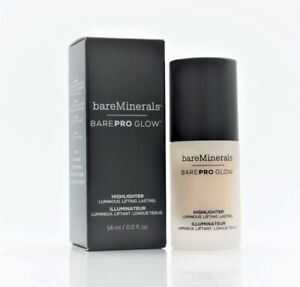 bareMinerals BarePro Glow Highlighter in Free 0.5 fl. oz. Full Size New In Box