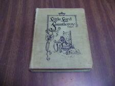 LITTLE LORD FAUNTLEROY 1886 1st ed.  FRANCES HODGSON BURNETT