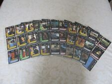 Star Wars set 140  cartes  complet  Young Jedi Episode 1   + 8 feuilles  max pro