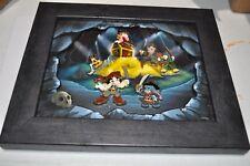 Rare New Framed Disney 6 Pin set LE100 LE 100 Mickey Pirate Treasure LOT 140