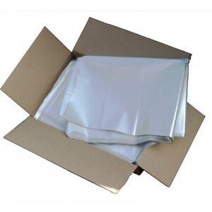 100 Clear Compactor Sacks   Bin Bags   Heavy Duty