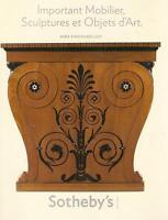 Sotheby's Imp Mobilier Sculptures Objets d'Art Auction Catalog Nov 2010