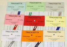 Tracksetta Gauges - Set of 9 - (N/009) (Model Railways)