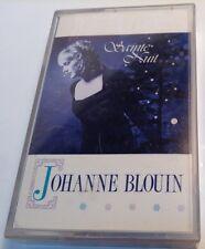 JOHANNE BLOUIN Tape Cassette SAINTE NUIT 1990 disques RSB Canada PGC-4-914