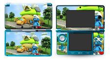 Skin Sticker to fit Nintendo 3DS - Smurfs