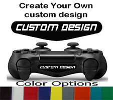 PS4 Playstation 4 Controller Custom Logo Design Light Bar Decal Sticker