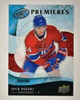 2019-20 ICE Ice Premieres Retro #30 Nick Suzuki RC /149 - Montreal Canadiens