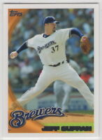 2010 Topps Baseball Milwaukee Brewers Team Set Series 1 2 and Update
