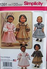 New Pattern 1391 Doll Clothes Civil War Costumes fit 18 inch American Girl