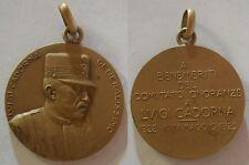medaglia generale Luigi Cadorna 1925