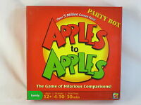 Apples to Apples 2007 Party Box Board Game Mattel 100% Complete Near Mint @@