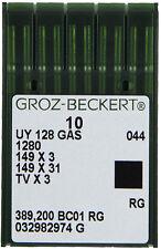 Groz-Beckert Uyx128Gas (Box of 100 Needles ) For Coverstitch machines, Pegasus