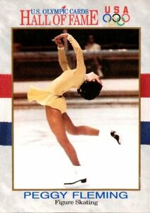 1991 Impel USA Olympic Hall of Fame Cards #16 Peggy Fleming Figure Skating