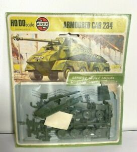 AIRFIX ARMOURED CAR 234 BLISTER PACK SCALE MODEL H0/00 SCALE