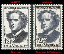 """France Variété sur """"Le Verrier 1958""""Brun noir yt:1147a Sc:870 Mi:1183 Neuf**/MNH"""