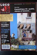 MODELISME FERROVIAIRE TRAIN MAGAZINE LOCO REVUE N° 565 de 1993