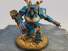 Warhammer 40k Thousand Sons Contemptor Dreadnought COMMISSION Chaos Space Marine