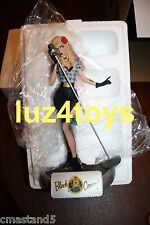 RARE DC Comics Bombshells Black Canary Statue limited 5200 Sold Out