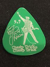 Cheap Trick Tour Guitar Pick Rick Nielsen Green-80's Rock
