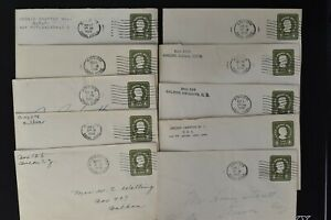 CANAL ZONE Postal History COVER LOT #8 - 35+ #U10 - 1c PSE Entires $$$