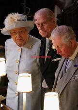 QUEEN ELIZABETH Photo 8x10 Eugenie Wedding Prince Philip Prince Charles England