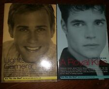 You're the One #2 #3 (Royal Kiss & Lights Camera Love) Chapter Books - FREE SHIP