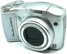 Canon PowerShot SX100 IS 8.0MP Digital Camera - Gray
