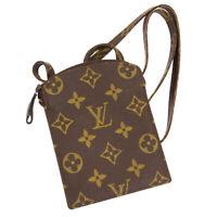 LOUIS VUITTON POCHETTE SECRET SHOULDER BAG POUCH 852 MONOGRAM M45484 01617