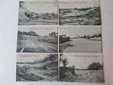 Brooklands motor course. Brooklands postcard.motor racing.
