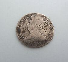 Reine Anne 1708 Shilling Argent Massif Pièce de Monnaie. 'E' Sélectionnez Cette