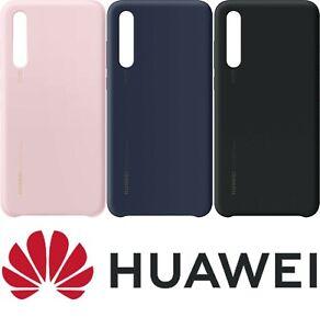 Huawei P20 Pro Custodia Originale Protettivo Silicone Cover - Rosa / Blu/Nero