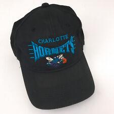Vintage Charlotte Hornets hat Youngan cap snapback retro 1990s NBA hbx19