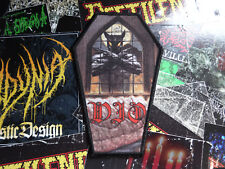 Dio Coffin Patch Heavy Metal