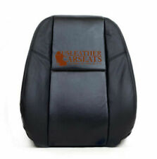 2007-2011 Cadillac Escalade Driver Lean Back Perforated Leather Seat Cover Black